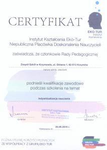 certyfikat10009